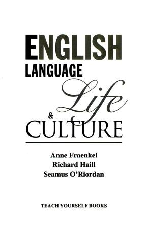 Teach Yourself   English Language  Life  and Culture PDF