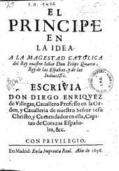 El principe en la Idea ...