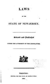 Laws of the State of New-Jersey: Volume 1998