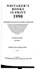 Whitaker s Books in Print PDF