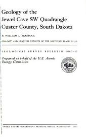 Geological Survey Bulletin: Issue 1063