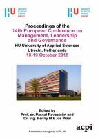 ECMLG 2018 14th European Conference on Management  Leadership and Governance PDF
