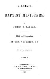 Virginia Baptist Ministers: In Two Series, Volume 2