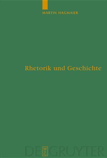 Rhetorik und Geschichte PDF