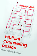 Biblical Counseling Basics Book