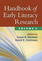 Handbook of Early Literacy Research PDF
