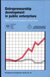 Entrepreneurship Development In Public Enterprises Book PDF