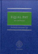 Equal Pay  Law and Practice PDF