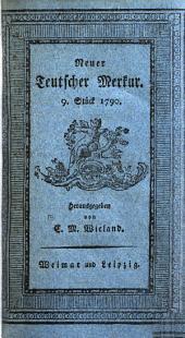 Der Neue Teutsche Merkur vom Jahr 1790: Dritter Band