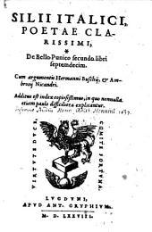 De Bello Punico secundo libri septemdecim. Cum argumentis Hermanni Buschij, et Ambrosij Nicandri. Additus est index (etc.)