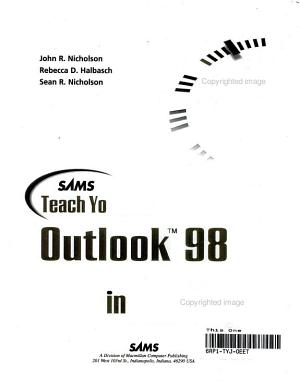 Sams Teach Yourself Outlook 98 in 24 Hours PDF
