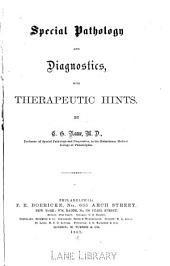 Special pathology and diagnostics