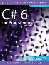 C# 6 for Programmers: Edition 6