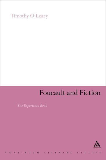 Foucault and Fiction PDF