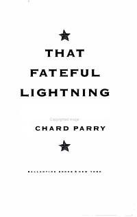 That Fateful Lightning PDF
