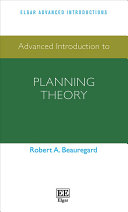 Advanced Introduction to Planning Theory