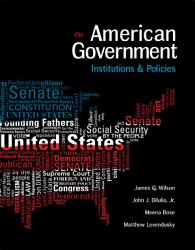 American Government Institutions And Policies Book PDF