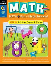 MATH PLUS: Step In, Grade PreK–K, eBook: Math + Fun - Math Success!