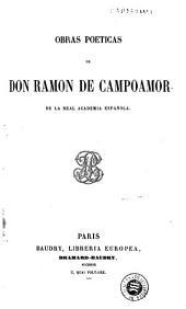 Obras poéticas de don Ramon de Campoamor