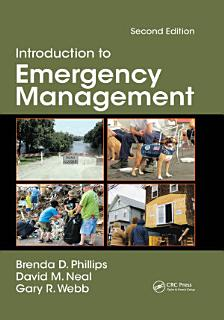 Introduction to Emergency Management Book