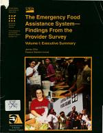 The Emergency Food Assistance System