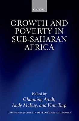 Growth and Poverty in Sub Saharan Africa PDF