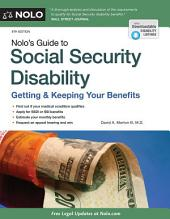 Nolo's Guide to Social Security Disability: Getting & Keeping Your Benefits, Edition 8