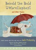 Behold the Bold Umbrellaphant Unabridged CD PDF