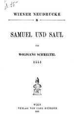 Samuel und Saul, 1551