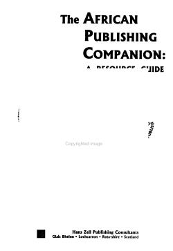 The African Publishing Companion PDF