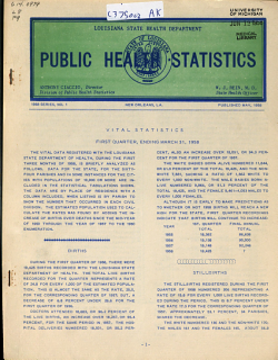 Public Health Statistics PDF