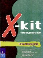 Xkit undergraduate Entrepreneurship PDF