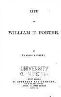 Life of William T  Porter PDF