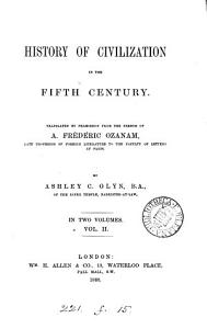 History of civilization in the fifth century  tr  by A C  Glyn PDF