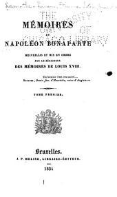 Mémoires de Napoléon Bonaparte: Volume1