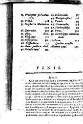 Mythologiae Christianae sive Virtutum & vitiorum vitae humanae imaginum Libri tres