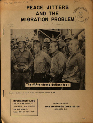 Peace Jitters and the Migration Problem PDF