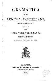 Gramática de la lengua castellana según ahora se habla