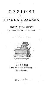 Lezioni di lingua toscana