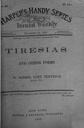 Tiresias, and Other Poems