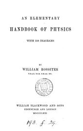 An elementary handbook of physics