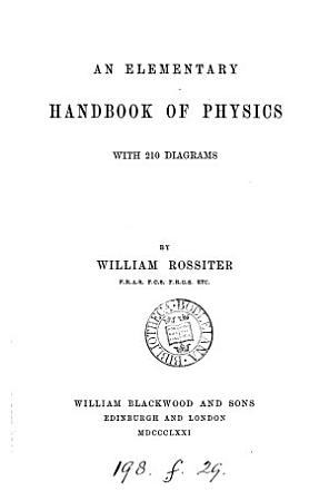 An elementary handbook of physics PDF