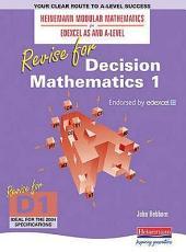 Revise for Decision Mathematics 1 PDF