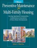 Preventative Maintenance for Multi-Family Housing