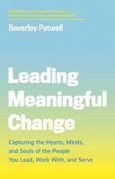Leading Meaningful Change