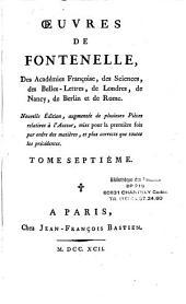 Oeuvres de Bernard de Fontenelle