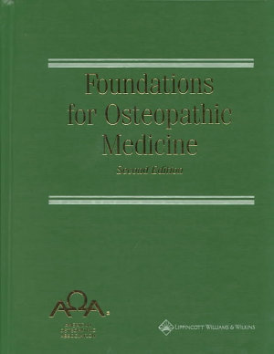 Foundations for Osteopathic Medicine PDF