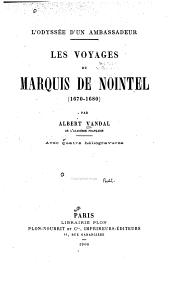 voyages du marquis de Nointel (1670-1680)