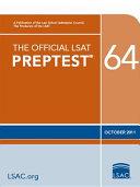 The Official LSAT Preptest 64   Oct  2011 LSAT