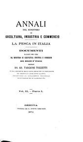 La pesca in Italia: Volume 2,Parte 1